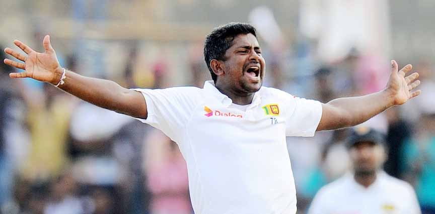 Rangana Herath finished