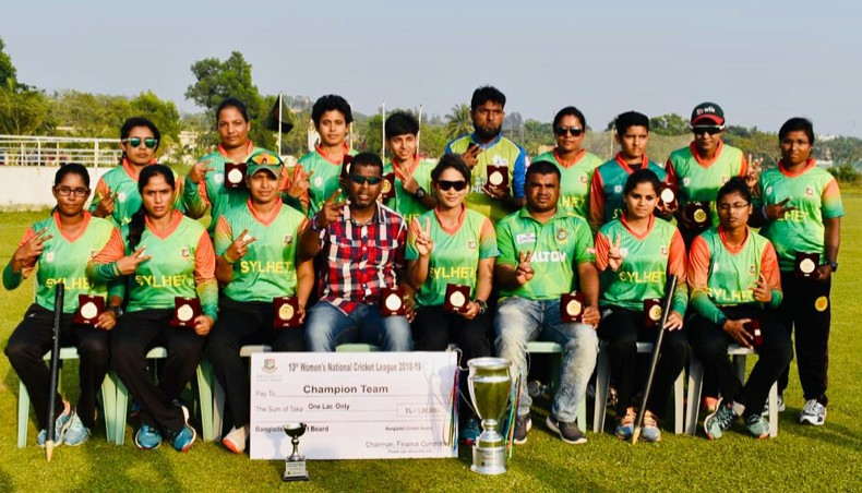 Sylhet retain women's nat'l title