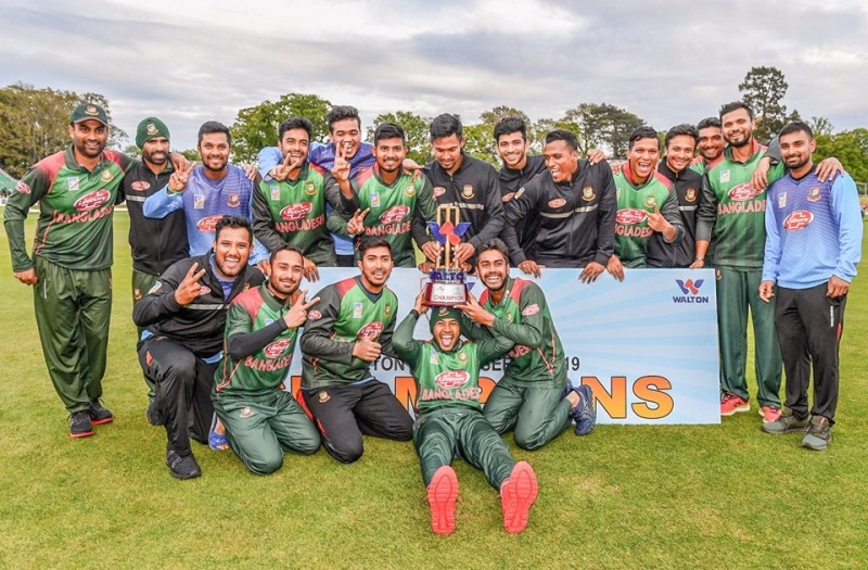 Bangladesh end trophy drought in style